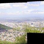 vista que se puede ver desde el cerro de la virgen.