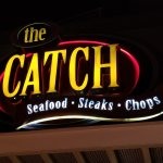 Exterior sign for The Catch