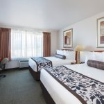 Suite w/ two queen beds.