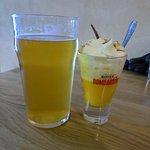 Beer and Bombardino