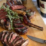 Meat and Magnum: Chef's selection of steaks and a Magnum bottle of wine