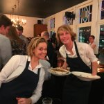 The two waiters, Wilhemine and Oliver. Efficient, friendly, knowledgeable.