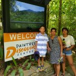 Daintree Rain Forest visit arranged for by Paradise palms.