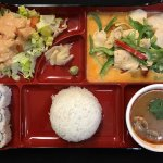 Lunch Box (Items on Lunch Box changes daily)