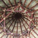 Pallapa roof of 'round' room