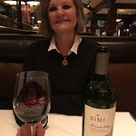 Bottle of Simi from Sonoma. A cabinet sauvgnon
