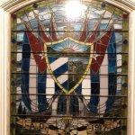 Window inside El Circulo Cubano - the Cuban Club, Ybor City