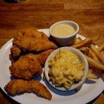 Love the Lunch Chicken Tenders platter.