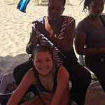 My daughter has been getting braids at this beach every visit & LOVES IT