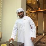 "This the most hospitable lobby host in Dubai, Mina ""Abu Yousif"". I always come back here to have"