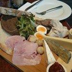 Delicious Ploughmans Light Lunch Platter