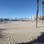 Photo de Poniente Beach