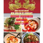 We are going to change the name of restaurant to Singh Thai restaurant let come and try our best