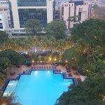 The inground pool