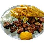 Κοντοσούβλι χοιρινό/Shish Kebab