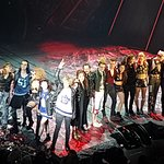 Final curtain call for the Bat Out of Hell cast at the Ed Mirvish Theatre, Toronto