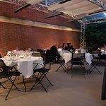 Salle de restaurant extérieures