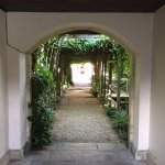 Archway to spa area