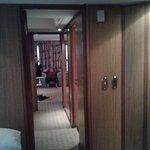 quarto com 3 ambientes.