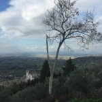 The Basillica of St. Francis and valley beyond