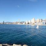 Preciosa vista desde el puerto