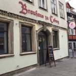 Front and entrance of Coburgs Brauhaus