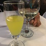 Limoncello and Vino Bianco was good - can't go wrong with them
