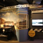 part of the exhibit on travel and the PA Turnpike