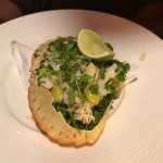Fresh crabmeat served in the shell