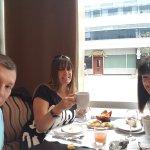 Desayuno en el Restaurant El Faro del hotel