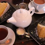 Our tea and cake for two!