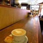 Latte & Macaroon - Laughing Goat Coffeehouse (18/Nov/17).