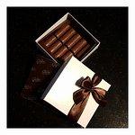 Une partie des chocolats réalisés durant l'atelier