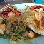 the amazing lobster burrito