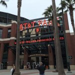 The main entrance to AT&T Park