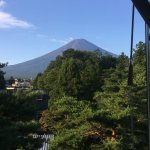 邊淋浴邊看綠油油的富士山