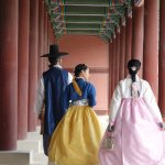 dress in hanbok or joseon-era clothing and then free admission into the palace grounds