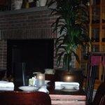 fireplace in Arlington Heights restaurant