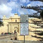 Mdina in Rabat near St. Paul's Cathedral