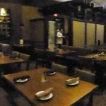Restaurant - it got a bit busier as the evening wore on