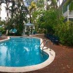 Gardens Hotel pool area