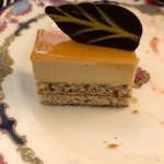 Rooibos Provence on a soft Hazelnut Delice, my favorite sweet