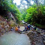 Volcanic mud deposits/Natural hot springs