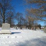 Esse cemitério foi uma agradável surpresa em Indianápolis. Visitei no dia 1° de janeiro de 2018.