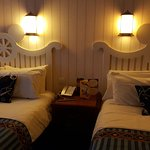 The themed double beds!