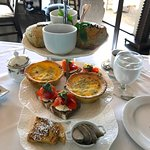 Our high tea breakfast
