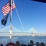 A pic on the Bridge from our Boat Tour ...
