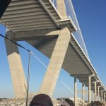 Great pic of Bridge structural details under it...from our Boat !