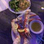 King Crab Legs, Brokoli, Rice