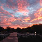 Sunrise on the Ballroom Lawn